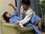 Asian Girl Was Too Weak To Defend Her Self From Crazy Boy