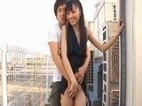 Exhibitionist Asian Couple Fuck In The Public Place