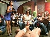College Girls Play Naughty Games With Stripper
