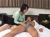 Filthy Asian Milf Went Crazy With Sleeping Sons Friend Boner