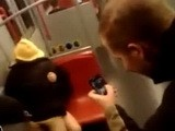 Drunk Couple Fucks in front of Strangers on Train