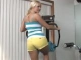 Slutty Ass Blonde Chick Fucked At Gym