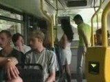 Girl fucked by nasty passenger in public bus in front of all others