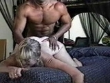 Horny White Bitch Likes Rough Doggystyle