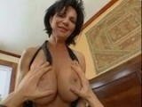 Horny Mom Jumps On A Young Guy