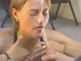 Hottie Takes The Mother of All Cumshots