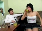 Drunk Hottie Tricked Into Something Awful