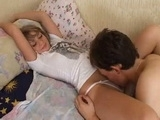 Sleeping Teen Beauty Awakening Fuck