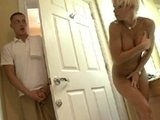 I catch my neighbor nude in her bathroom