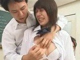 Crazy Japanese Dude Uses Voodoo Techniques To Fuck These Cute Schoolgirls