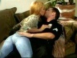 Lady in Tight Jeans Desperate To Fuck a Police Officer