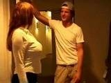 Mom Opened Door to her Sons Naughty Friend