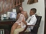 Busty Babe Seduced Her Boss