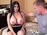 Big Boobed Mom Makes Boy Feel Better for GF Dumping Him
