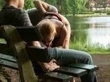 Public Sex Threesome in a Park