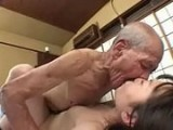 Poor Japanese Girl Fucked by Old Fart