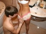 Young Sexy Teen Fucked in the Bathroom