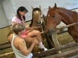 Teen Sisters Girlfriend tell me that Loves Horses So Much