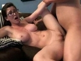 Sexy Nerdy College Girl Fucked On Cam