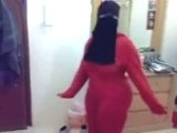 Drunk Arab Mature Goes Wild and Shows her Perfect Body