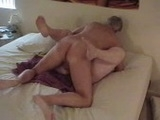 Mature Exhibitionist Old Couple Having Sex