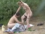 Dude Caught Fucking His Girlfriend In The Woods