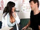 Lovely Milf Doctor Treated Juicy Her Patient