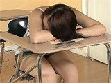 She Made A Huge Mistake By Falling A Sleep In The Classroom