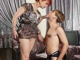Horny Hot Mom Abused Son's Friend