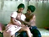 Young Indian First Time Alone with a Women