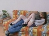 Girl In Sexy Stockings Gets Fucked Hard