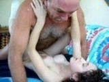 Old Turkish Guy fucks his Sons new Girlfriend