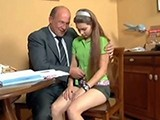 Dirty Teacher Blackmailed Sexy Teen Student
