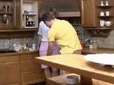 Dirty Boy Fucks his Girlfriends Mom in the Kitchen