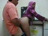 Amateur Arab Mom Blackmailed into Fucking