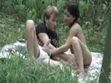 Couple Caught Having Hot Sex In The Nature