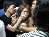 Girl Was Really Brave When Entered Night Club Elevator With Bunch Of Drunk Guys