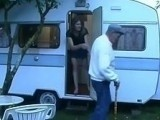 Naughty Slut Fucks Every Married Man in the Park