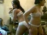 Naughty Arab Chicks Dancing Naked In Sexy Underwear