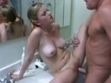 Dirty Dad Caught Daughters Friend in the Bathroom