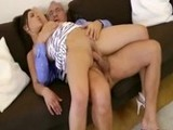 Dirty Grandpa Banged Young Sexy Teen