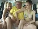 Grandpa Really Has Luck With Teen Girls