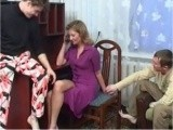 Hot Mature Teacher and Two Students