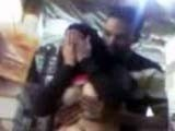 Embarassed Arab Girl put hands on Face!
