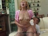 Mother Pulls Down Her Panties And Goes For a Ride