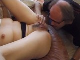 Horny Schoolgirl Fucking With Old Ugly Guy