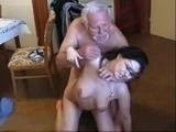 Perv Old Man Punished Hard His Sexy Teen Maid