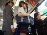 Asian Girl Entered In Train Full Of Maniacs