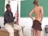 Naughty Girl Seduces Her Teacher