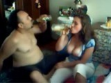 Iraqi Guy Gets His Neighbor Daughter Drunk To Fuck Her